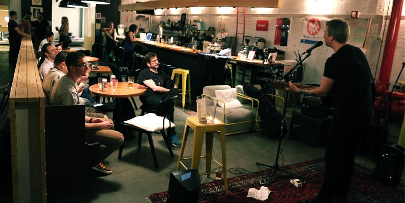 Don Paris Schlotman acoustic set at NYC Local